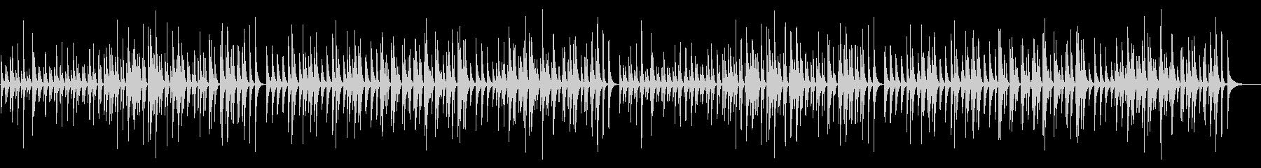 ピアノソナタ オルフ木琴の未再生の波形
