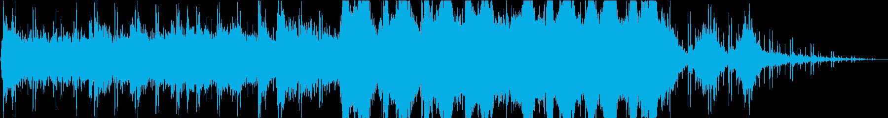 不思議/SF/宇宙/語り/ナレーションの再生済みの波形