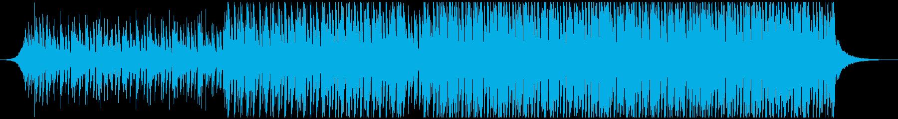 ダンス(中)の再生済みの波形