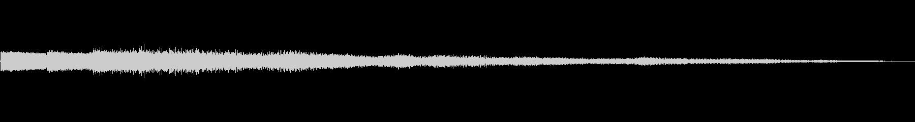 ピロリローン キラキラーン ボタン 01の未再生の波形