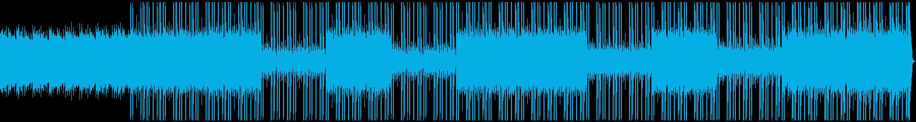 和をイメージしたトラップビートの再生済みの波形