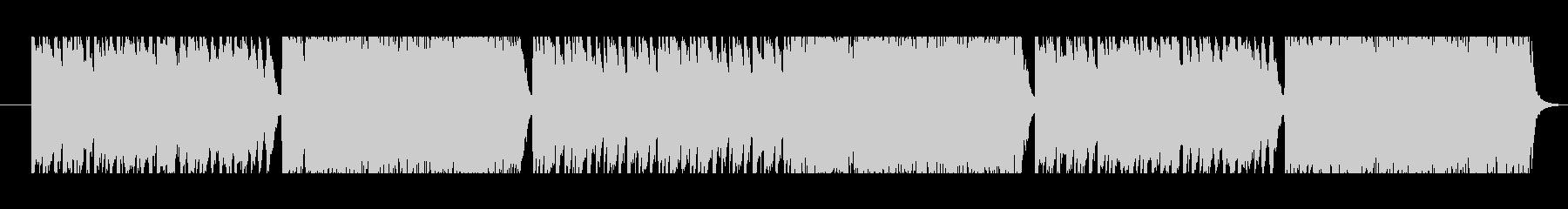 ビブラフォンの音が印象的な不思議なBGMの未再生の波形