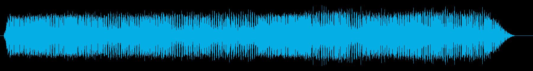 プロスポーツカー;スタート/アイド...の再生済みの波形
