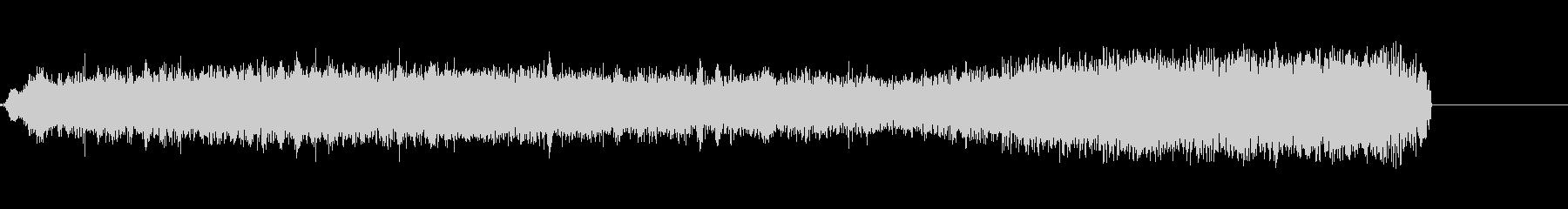 FMラジオ的ジングル11の未再生の波形
