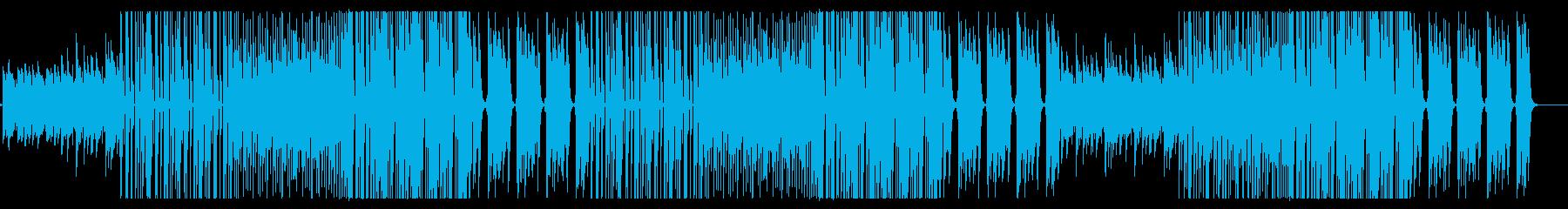 スネアがかっこいいフューチャーベースの再生済みの波形