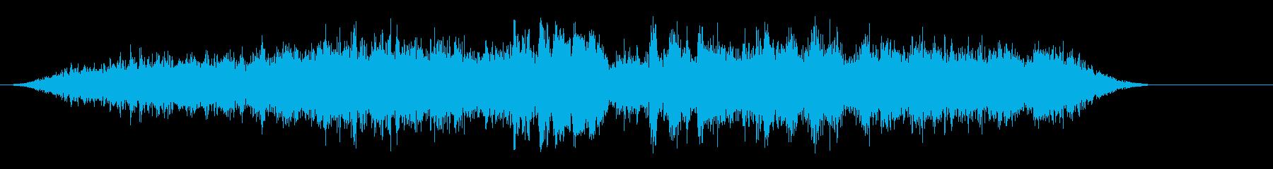 メトロ5の到着と出発の再生済みの波形