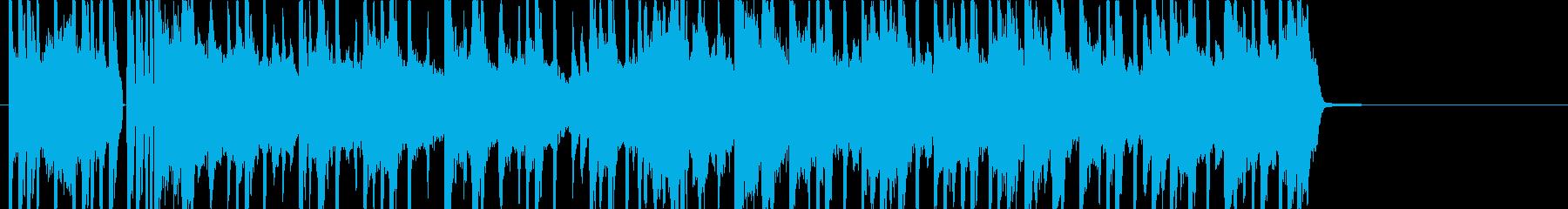 オシャレで切ないLO-FIジングルの再生済みの波形