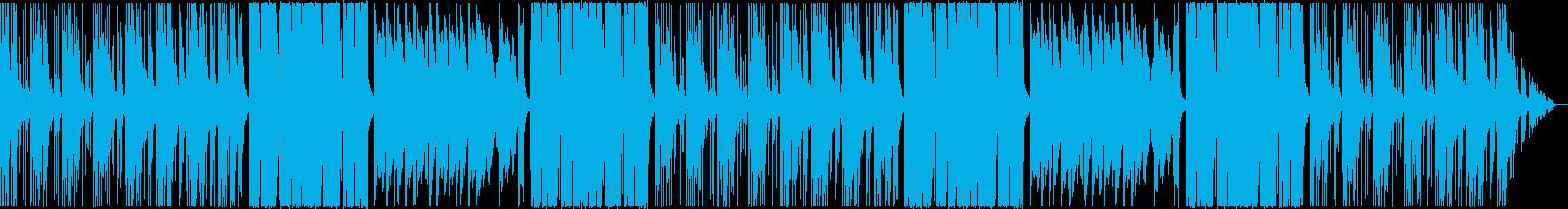 ワチャワチャ可愛いエレクトロの再生済みの波形