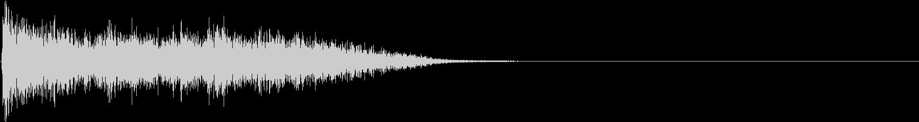 【生録音】刀系武器 アクションSE 7の未再生の波形