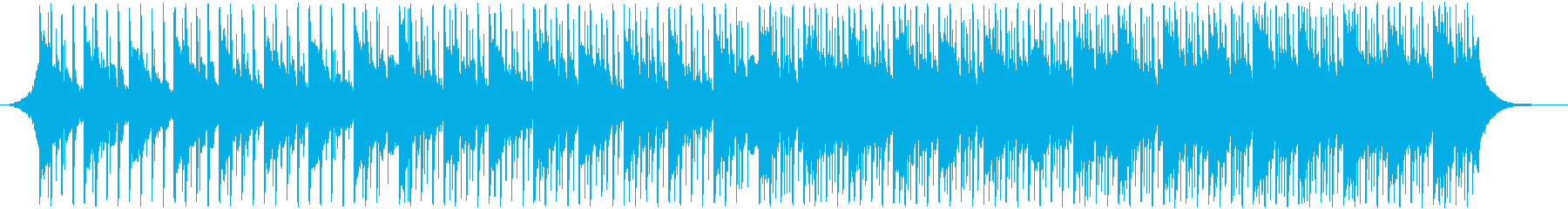 ポップロック、コーポレート系BGMの再生済みの波形