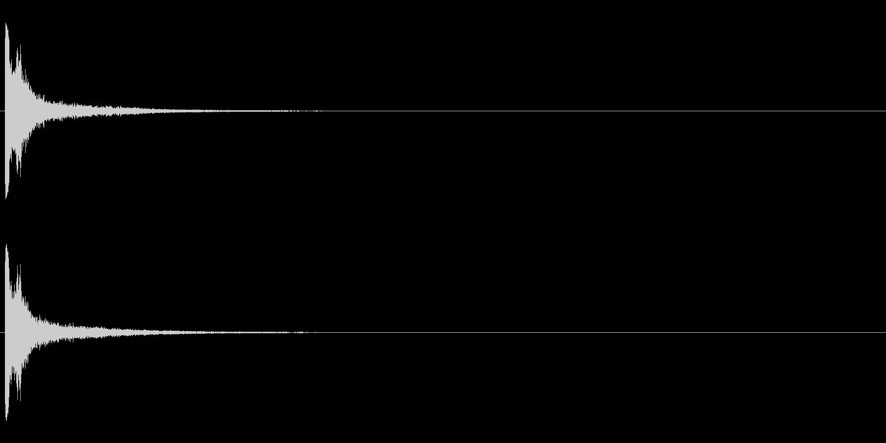 レーザー音-02-1の未再生の波形