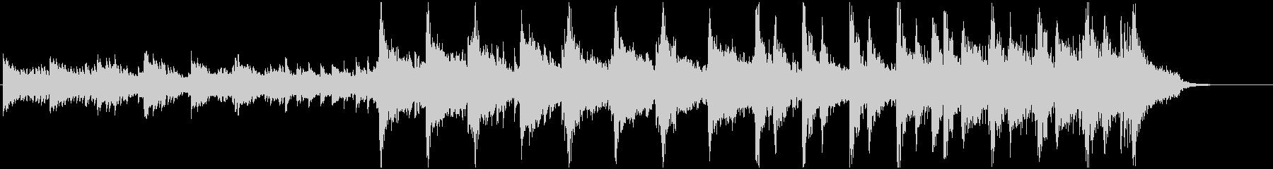 ピアノ、弦楽器、ベース、グロッケン...の未再生の波形