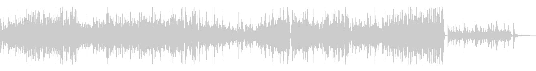 万華鏡のような繰り返しが可憐なピアノソロの未再生の波形