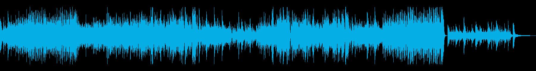 万華鏡のような繰り返しが可憐なピアノソロの再生済みの波形