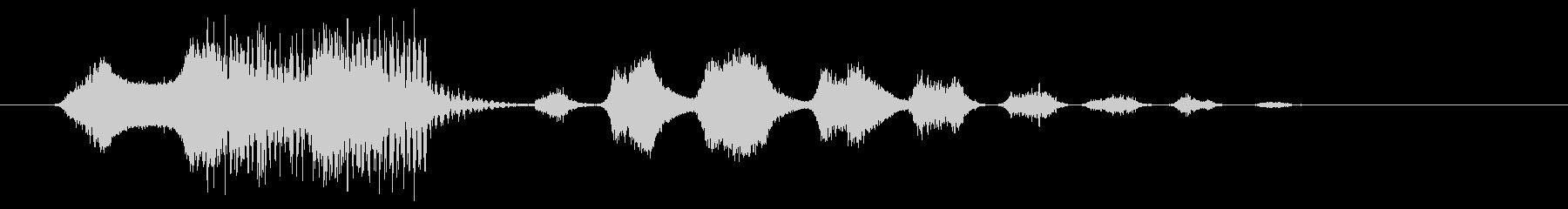 生体力学クリーチャー:短い機械的ワ...の未再生の波形