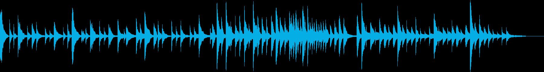 洋楽ピアノ 感動 希望 映像にチルアウトの再生済みの波形