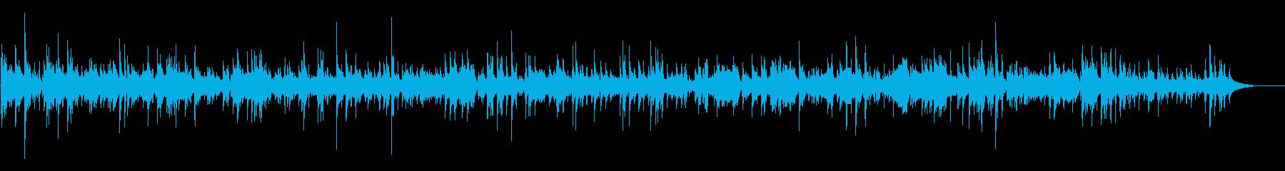 のんぴり、ゆったりしたカントリーBGMの再生済みの波形