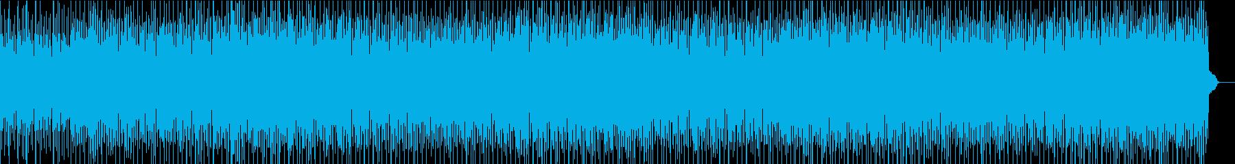 不穏な感じのテクノビート_推理、パズルの再生済みの波形