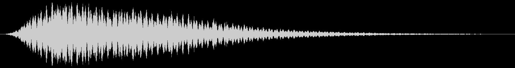 シャララーン キラキラ 魔法の未再生の波形
