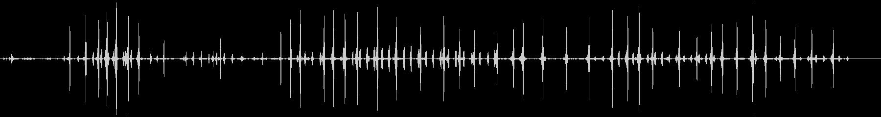 カナダのガチョウ。バックグラウンド...の未再生の波形
