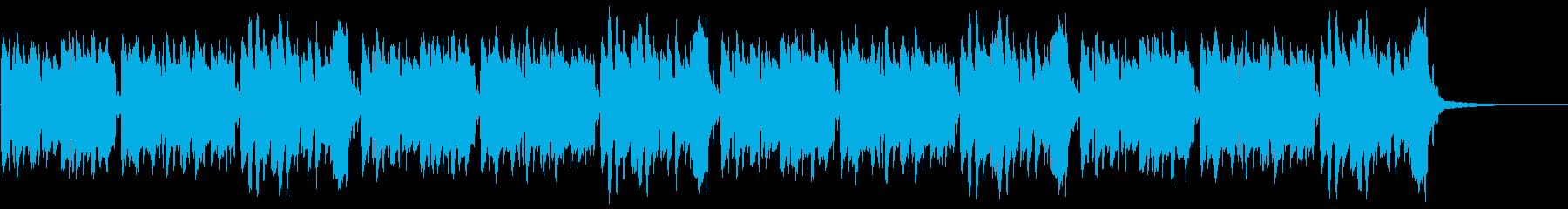 かたつむり(童謡)の再生済みの波形