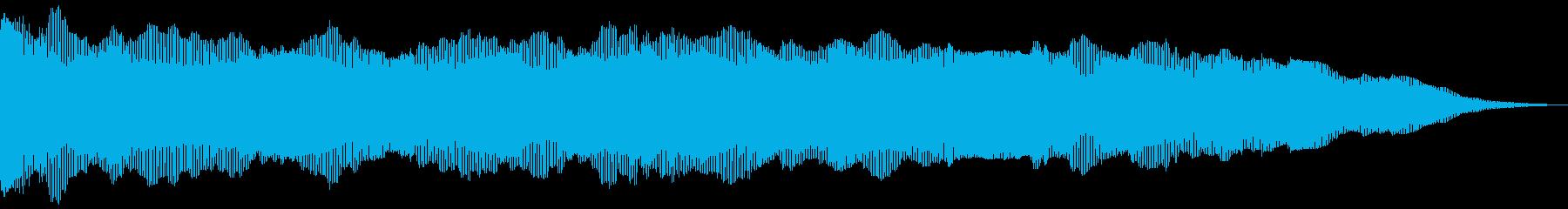 ドラマチックシンセドローンの再生済みの波形