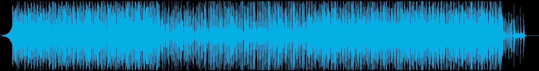 企業向明るくかわいいピアノで元気軽快の再生済みの波形