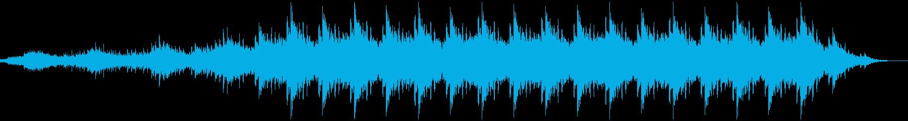神秘的 穏やか リラクゼーション3の再生済みの波形