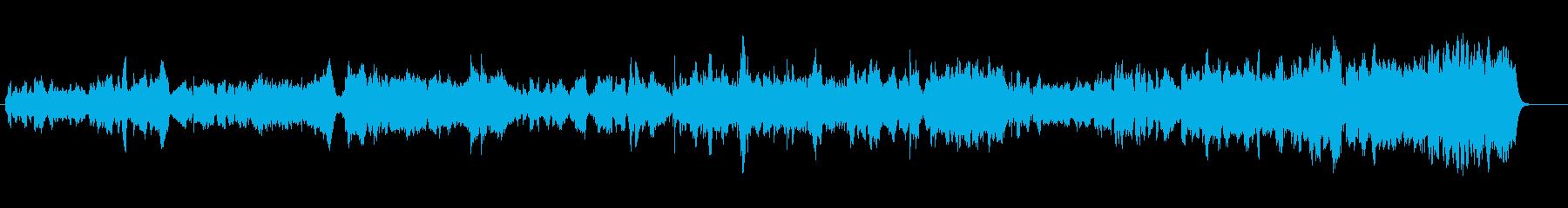 木管主体の切ない和風オーケストラの再生済みの波形