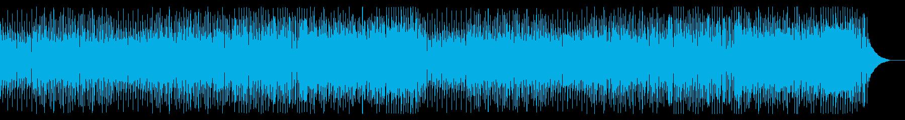 いたずらおばけ、コミカルなハロウィン曲の再生済みの波形
