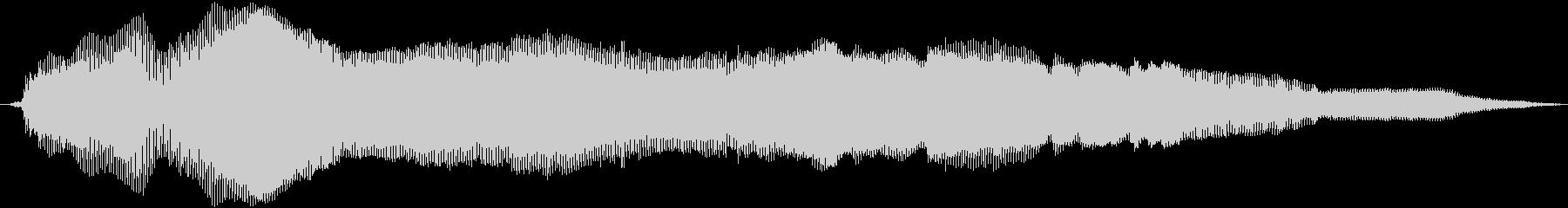猫の鳴き声(甘えるような声 テイク1)の未再生の波形
