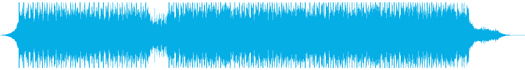 医療用(60秒)の再生済みの波形