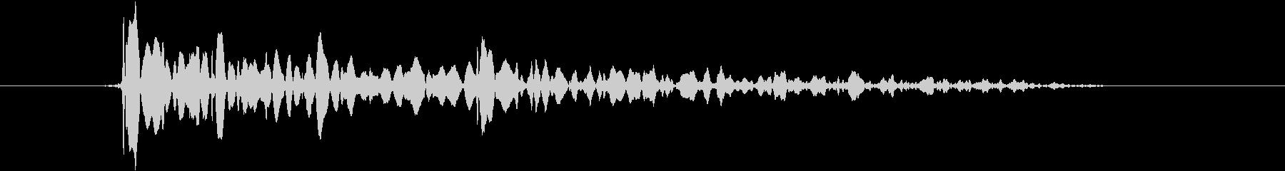エラー・失敗・キャンセル(ブブッ)の未再生の波形