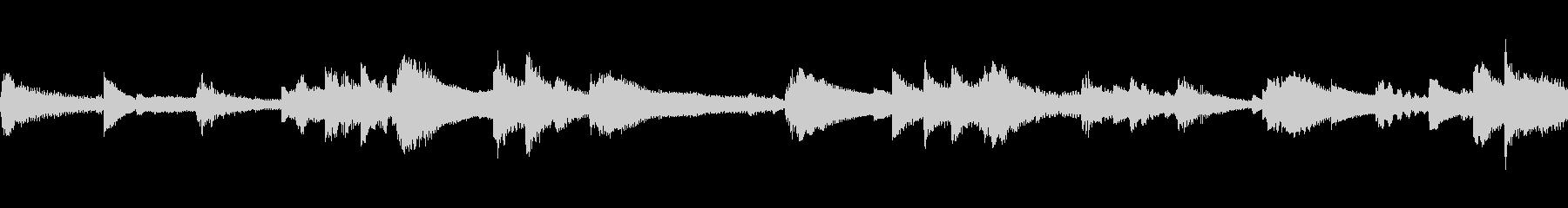 アコースティックベースとジャジーブ...の未再生の波形