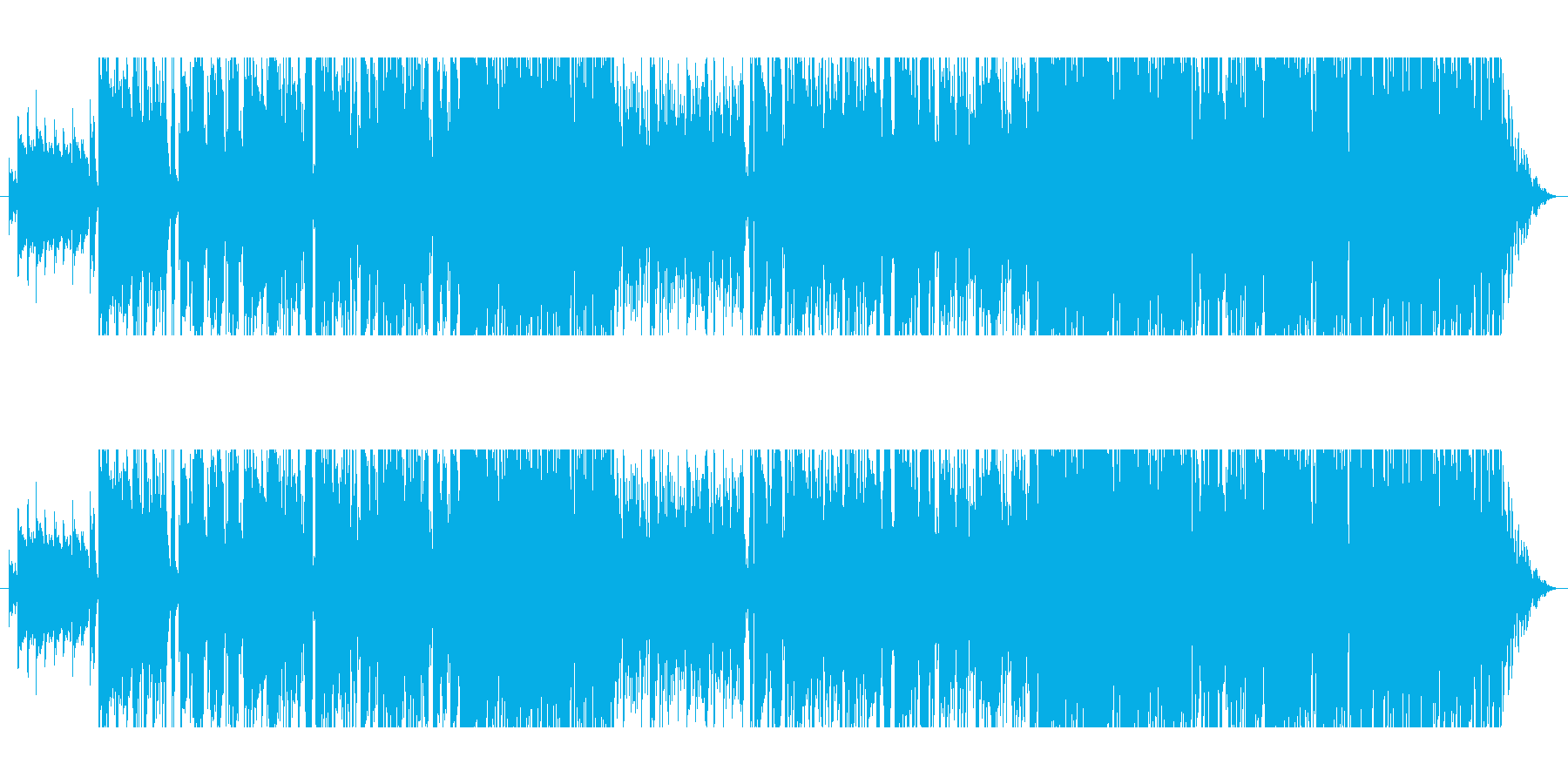 激しいバラード/JIINO・TO USの再生済みの波形