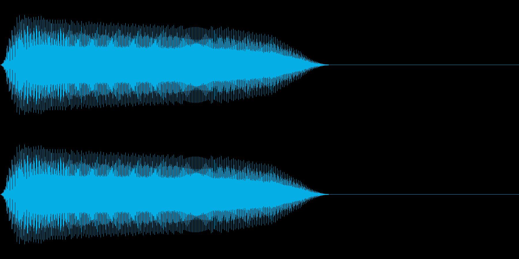ピポッ(鳴き声/動物ピコピコ/ファミコンの再生済みの波形