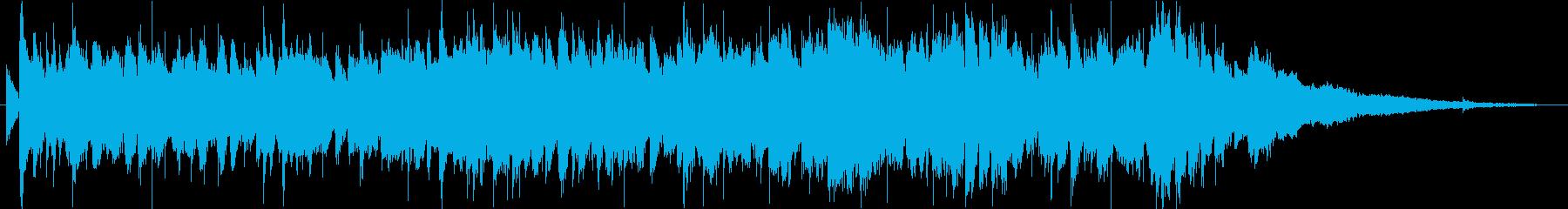短縮版】爽やか、ノリ、カッコいいアコギの再生済みの波形