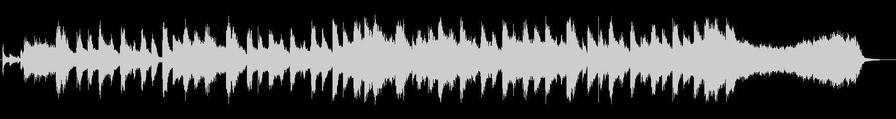 可愛らしいホーンとオルガンのマーチの未再生の波形