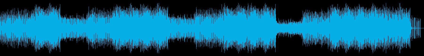 爽やかサマーソングの再生済みの波形