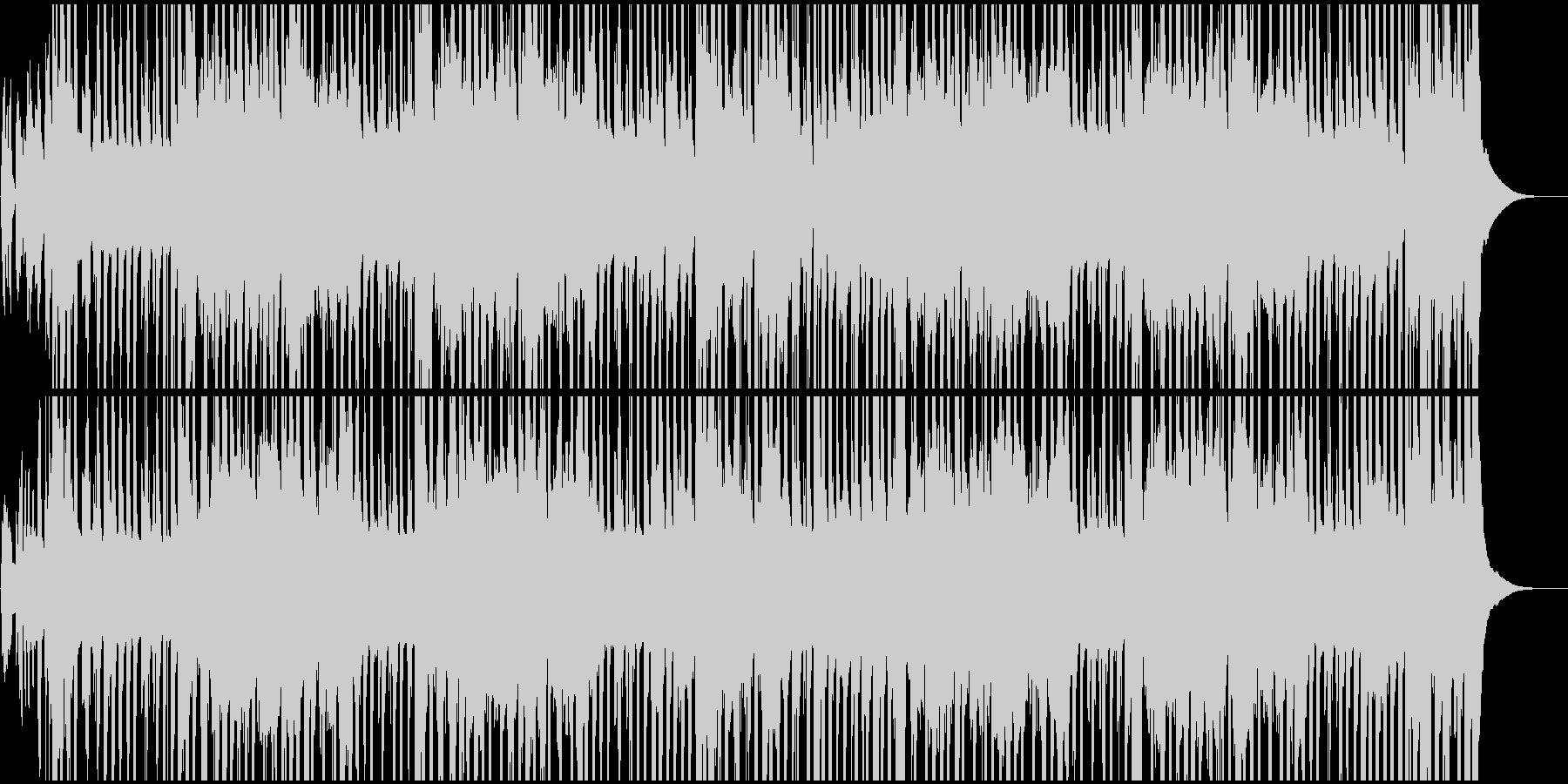 祭り囃子の現代風BGMの未再生の波形