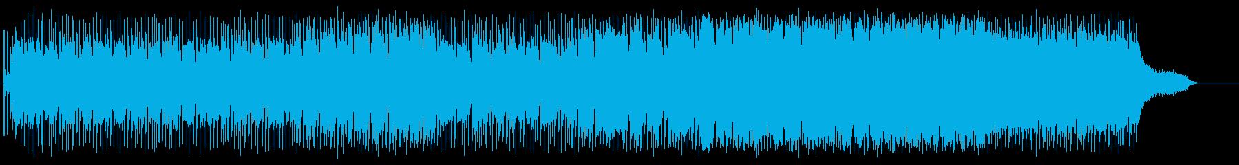 テーマ性のあるクールなフュージョンの再生済みの波形