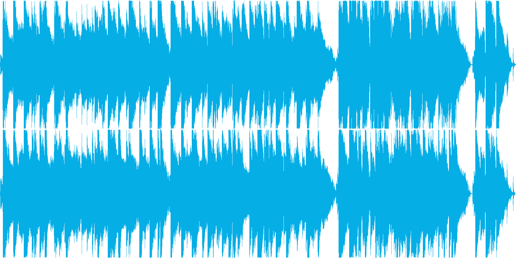 温かいアコースティックポップス!ループ可の再生済みの波形