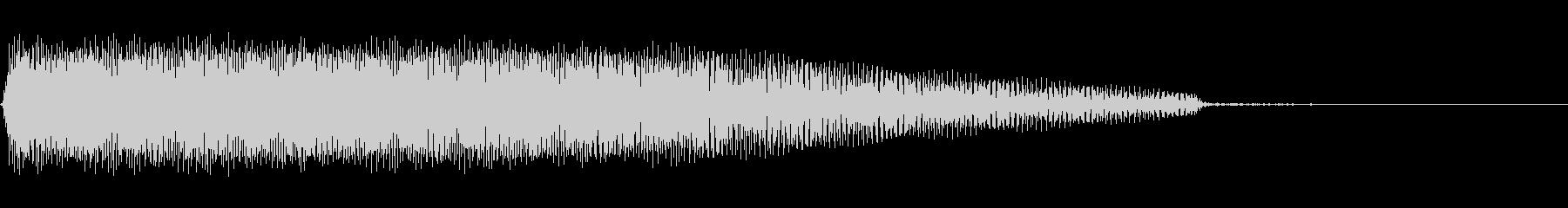 AnimeFX ロボットの動作音 単発の未再生の波形
