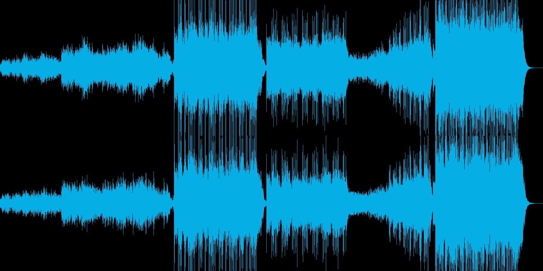 新世紀実験 ファンタジー 魔法 ピ...の再生済みの波形
