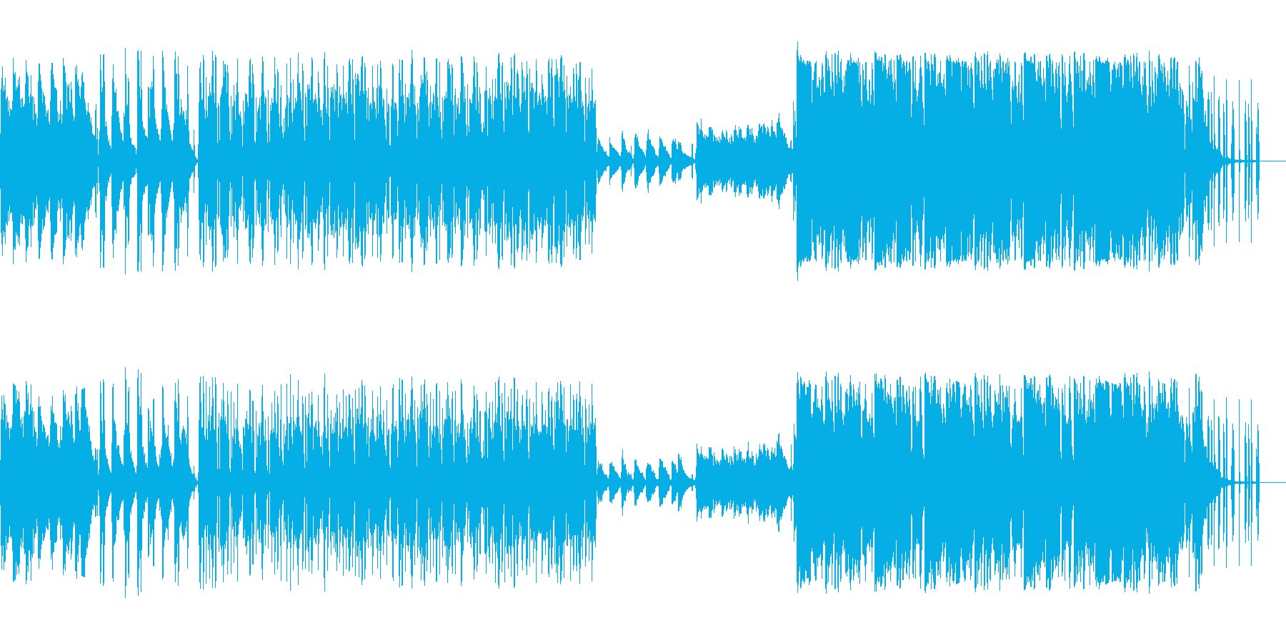 ローファイヒップホップ Lofiの再生済みの波形