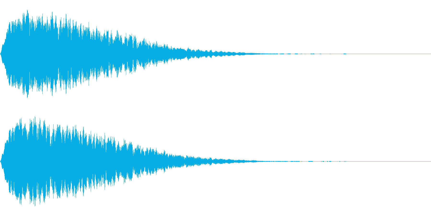 Anime ゆらゆらと風に飛ばされる音の再生済みの波形