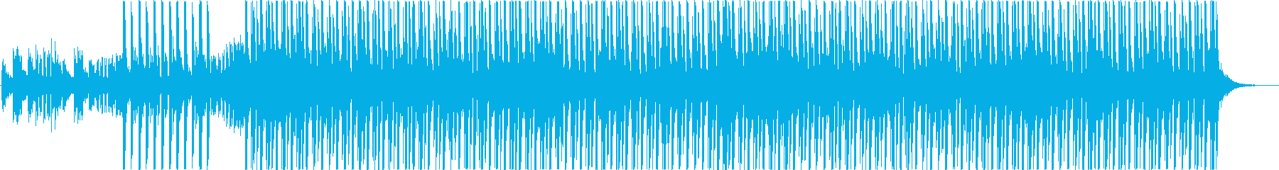A modern BGM with an impressive vocal chop's reproduced waveform