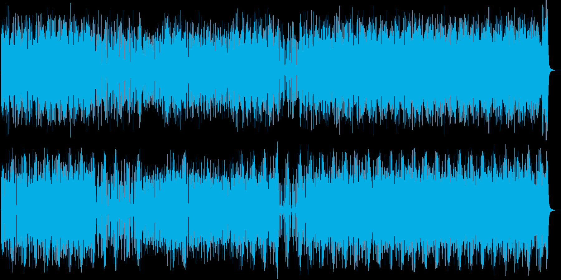 ギターが主役のスタイリッシュなロックの再生済みの波形