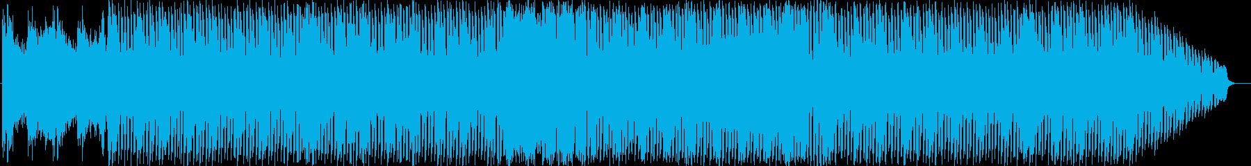 神秘的だけどスタイリッシュなゲーム音楽の再生済みの波形