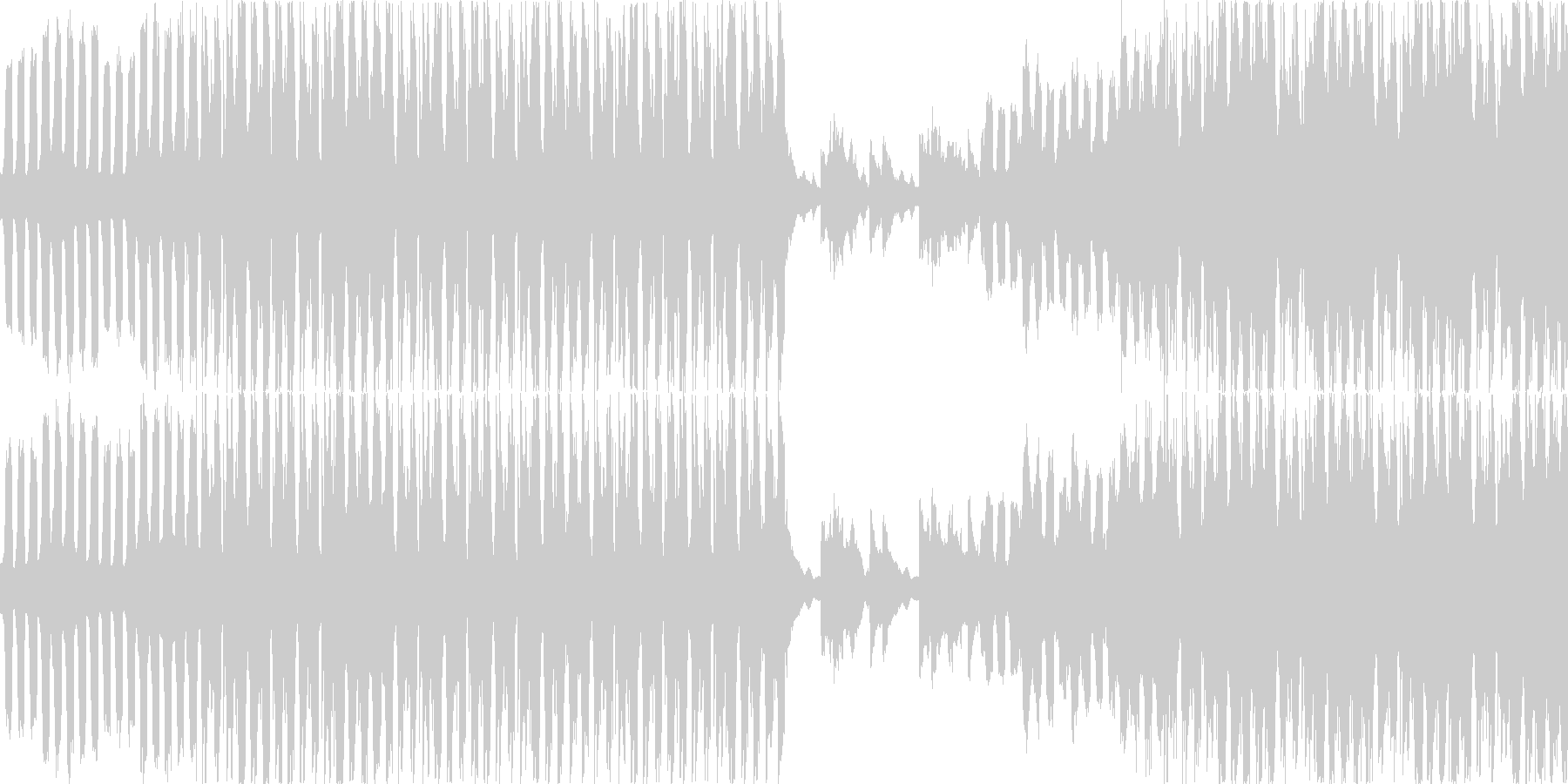 【映像系】令和幕開け_EDM調の未再生の波形